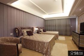 现代风格双人卧室装修效果图