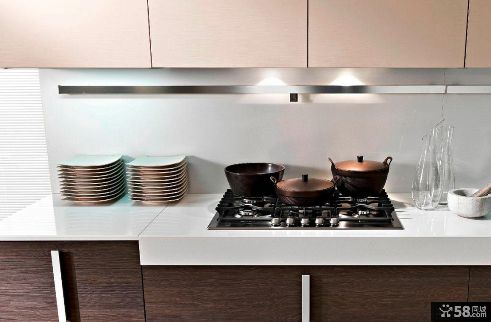 简约厨房灶台装修效果图大全