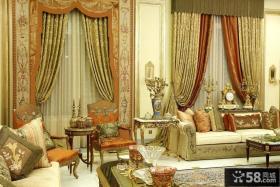别墅客厅奢华装修效果图