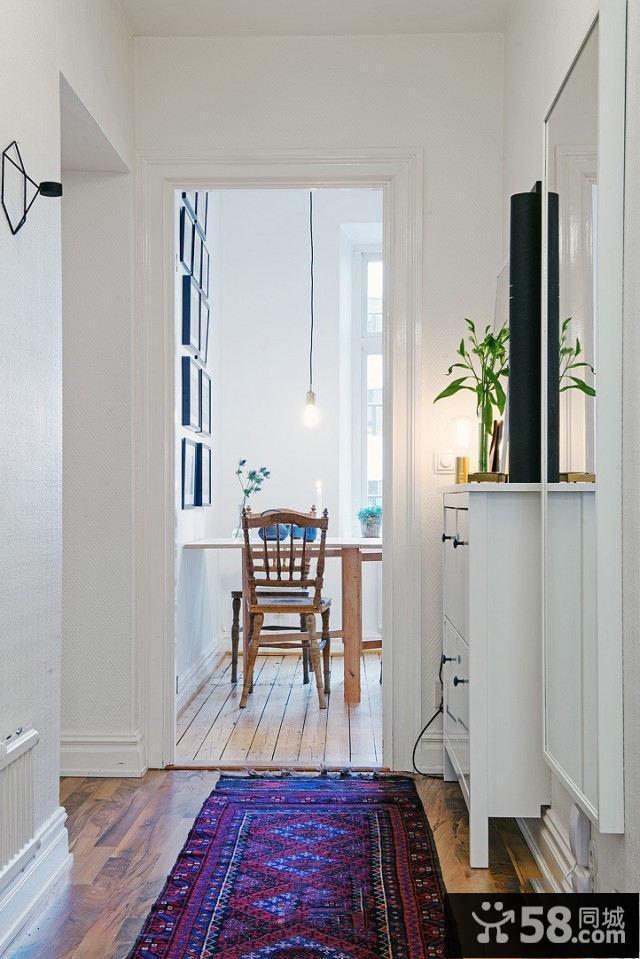 北欧家装一居室小住宅装修效果图