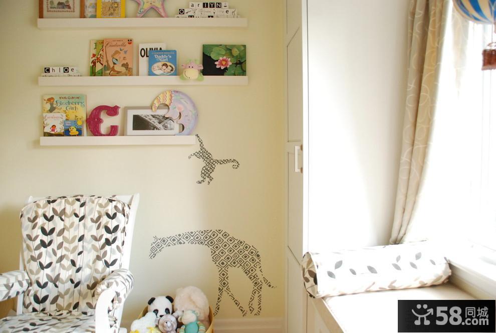 简约客厅照片墙贴效果图