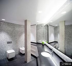 宜家设计10平米豪华卫生间图片