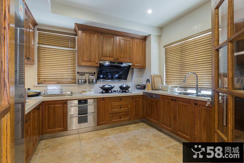欧式别墅厨房装修