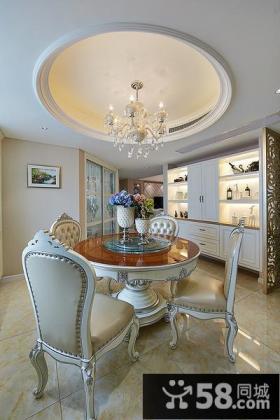 奢华欧式三居装修美宅