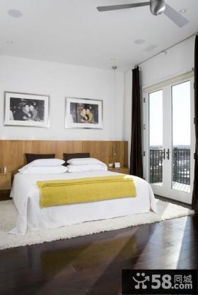 三室两厅简约卧室装修效果图