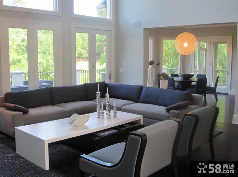 现代装修效果图大全2012图片客厅