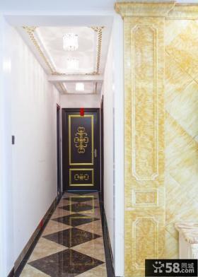 古典欧式玄关设计装修