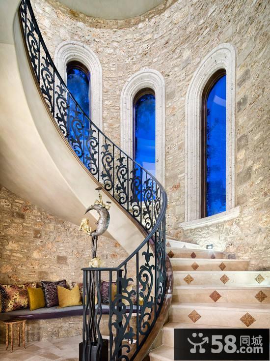 美式地中海风格卧室