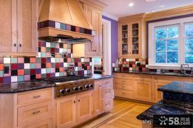 现代厨房装修效果图油烟机