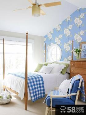 最新地中海风格卧室装修图片大全