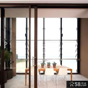 三房两厅装修效果图简欧餐厅装修效果图