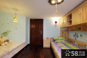 美式创意儿童房装修