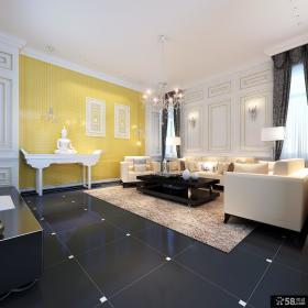 一层别墅客厅装修效果图大全
