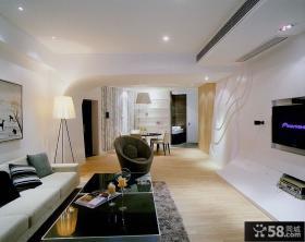 创意现代简约二居装潢大全