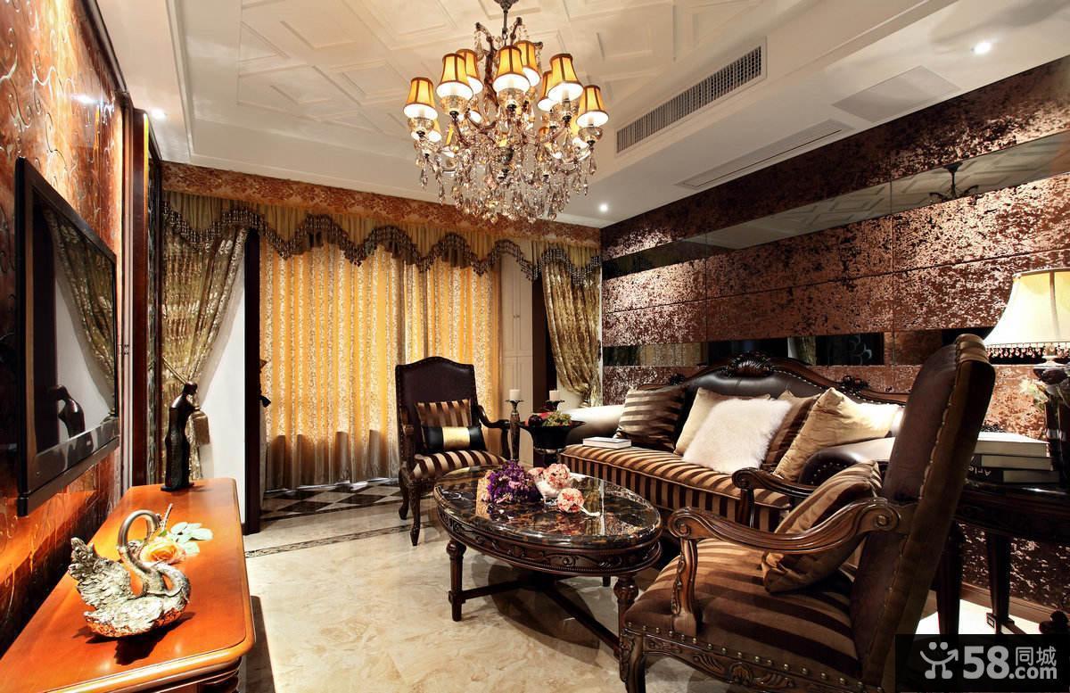 美欧装修三居室欣赏大全