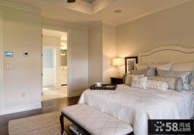 美式乡村风格装修卧室效果图