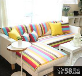 客厅布艺沙发坐垫