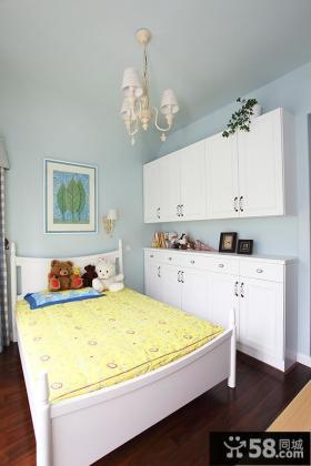 美式家居小空间儿童房装潢图片