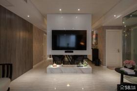 135平米美式现代四居装饰室内设计图片