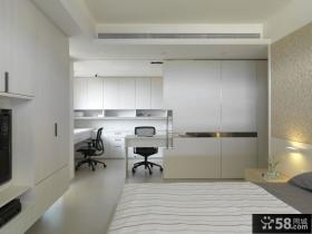 现代简约公寓卧室设计效果图
