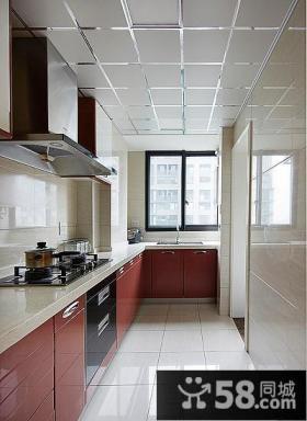 现代厨房志邦橱柜图片大全