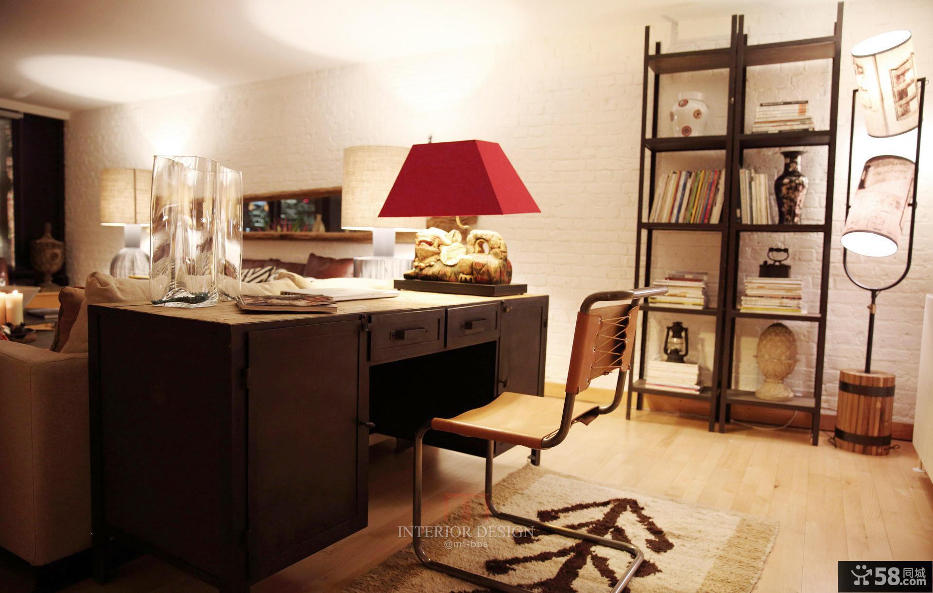 美式装修书房效果图欣赏