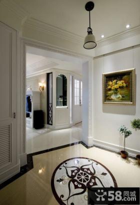 美式风格门厅装修设计图