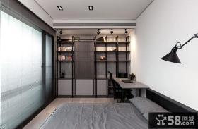 后现代风格卧室书房设计图片