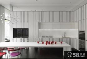 北欧时尚三居室效果图