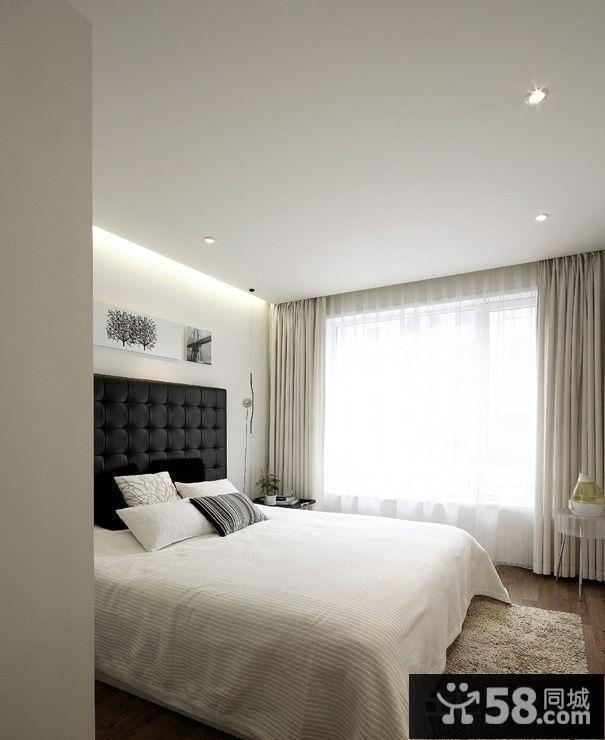 2013欧式卧室飘窗装修效果图欣赏