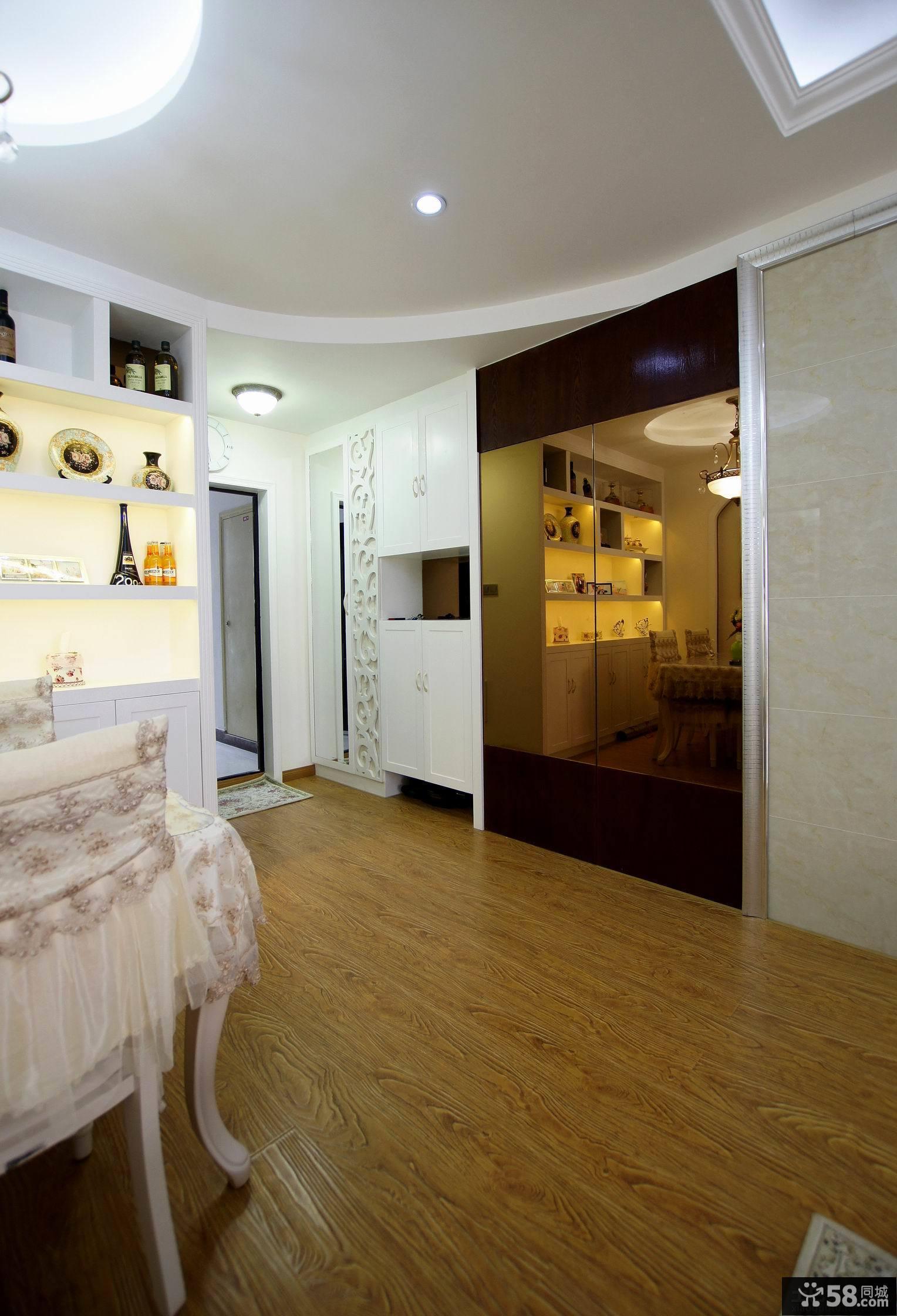 简欧风格80平米两室一厅装修效果图