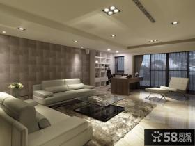 美式简约三居室设计