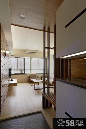 日式风格进门玄关图片