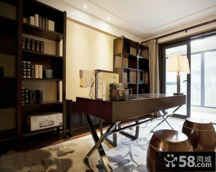 家装书房设计效果图欣赏大全