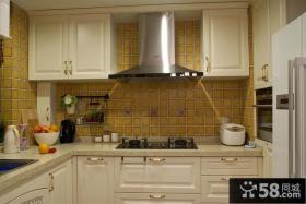 美式风格厨房图片大全欣赏