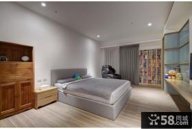 创意现代风格一居室装饰效果图