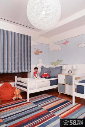 儿童房创意吊灯装修效果图欣赏
