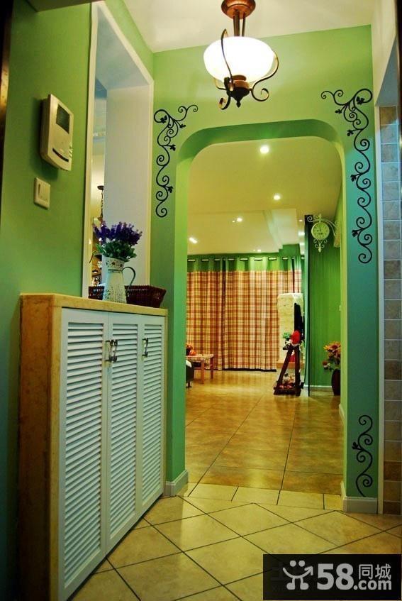 美式乡村风格地下室装修图片
