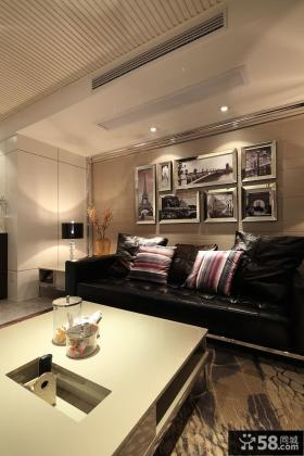 最新现代家庭客厅装修效果图大全