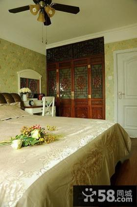 田园风格60平米小户型卧室效果图片