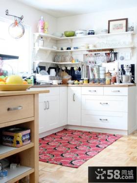 家庭敞开式厨房装修效果图片