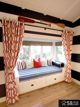 宜家儿童房飘窗设计