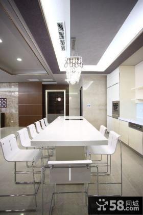 2015现代风格装修餐厅效果图欣赏