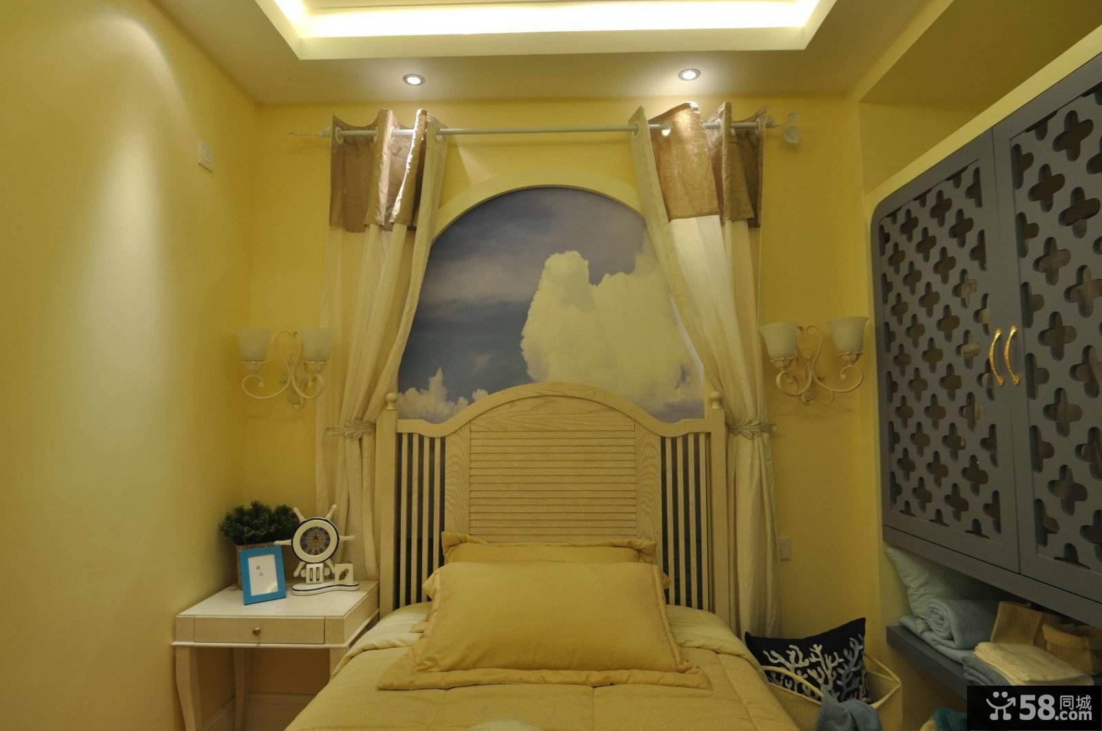 浓浓地中海风情儿童房设计