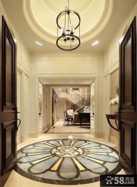 华丽古典欧式玄关设计