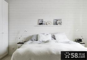 北欧风格小户型设计卧室效果图