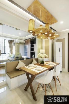 现代素雅两居室装修设计