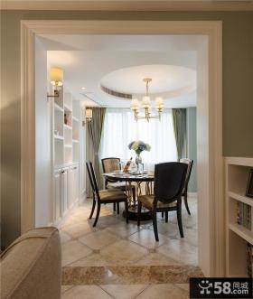 新古典家居餐厅装修效果图大全2014图片