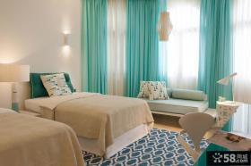 现代北欧风格卧室设计效果图