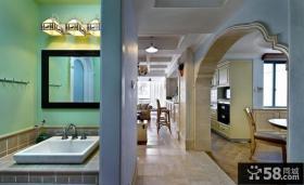 现代卫生间装修设计图片大全2014图片
